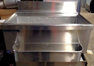 """"""" Underbar Stainless Steel Commercial NSF 120 lb Ice Bin Cooler USED"""