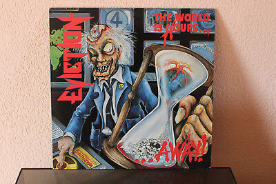 Eviction - The World Is Hours Away (Vinyl-LP) (Thrash-Metal)