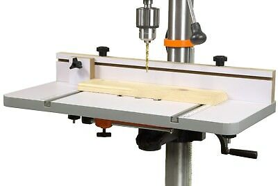 """WEN DPA2412T 24-by-12"""" Drill Press Table with an Adjustable Fence and Stop Block"""