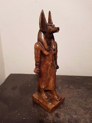 Rare Antique Ancient Egyptian Statue God Anubis mummification death 1850-1760BC