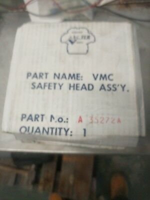 VILTER 450 halocarbon safety head, #35272A, qty 4