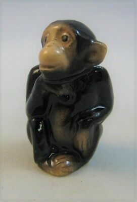 Hagen Renaker miniature made in America Monkey seated