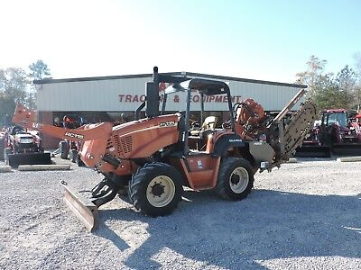 2007 Ditch Witch Rt115 Trencher Combo - Vermeer - Low Hours - Good Condition!!