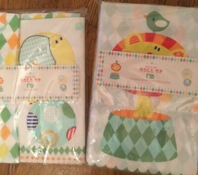 Mothercare Roll up Roll up Cotbed Duvet Cover & Pillowcase & Pack Of Cot Pockets