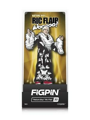 WWE Legends Series Nature Boy Ric Flair Enamel Pinback By FiGPiN