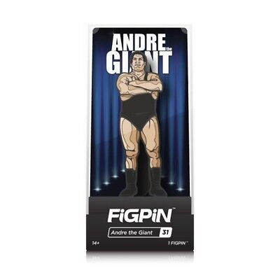WWE Legends Series Andre The Giant Enamel Pinback By FiGPiN