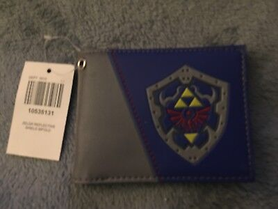 The Legend of Zelda Hylian Shield Unisex Bi-Fold Wallet BRAND NEW WITH TAGS