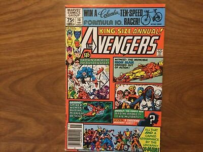 Marvel 1981 Avengers King Size Annual 10 1st App Rogue Uncanny Xmen Wolverine
