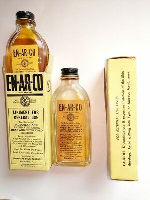 old medicine EN-AR-CO. Liniment, dandruff, and head colds