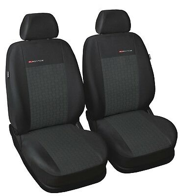 VW Caddy 2x Front P4 Seat Covers Car