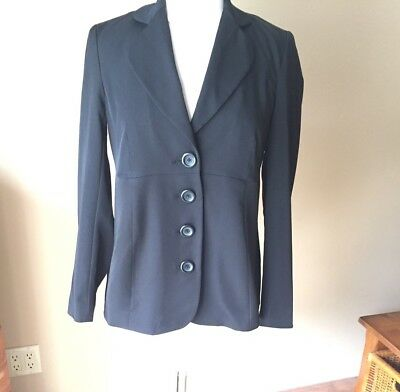 Motherhood Maternity Jacket Blazer Black Size Small