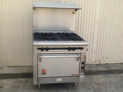 """Wolf Kfs-4-27 36"""" Gas Range With Convection Oven"""
