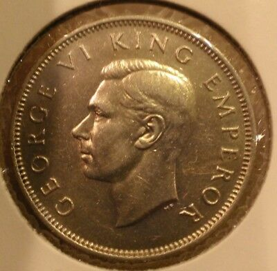 1941 FLORIN NEW ZEALAND GEORGE VI - High Grade