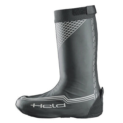 Held Skin Long Matt Black Motorcycle Motorbike Waterproof Over Boots All Sizes