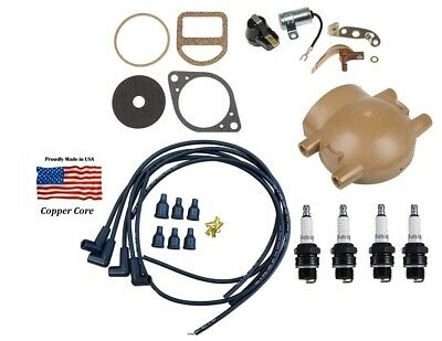 Complete Tune Up Kit for Ford 9N 2N & 8N Tractors with Front Mount Distributor