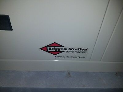 briggs stratton standby generator 12kw #01815,automatic transfer switch,cold kit