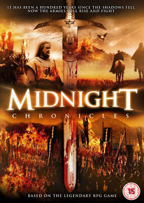 Midnight Chronicles NEW PAL Cult DVD Charles Hubbell