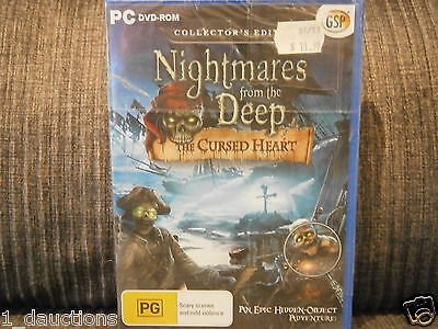 New Sealed Pc Cd-Rom Game Deadly Puzzles Toymaker
