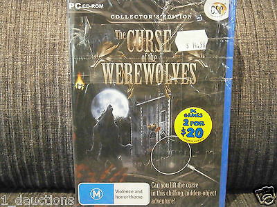 New Sealed Pc Cd-Rom Game The Curse Of The Werewolves Collectors Edition