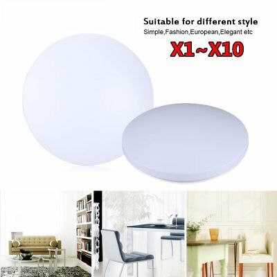 18W LED Ceiling Light Round Flush Mount Fixture Lamp Bedroom Kitchen Lighting AA