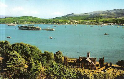 Scotland  -  Danoon - Firth of Clyde - Holy Loch - Look to the High Kirk