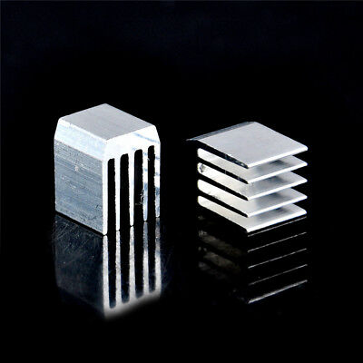 10pcs Aluminum Cooling 9x9x12MM Heat Sink RAM Radiator Heatsink Cooler WKHWC