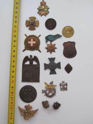 Österreich Austria - Hungary  WWI convolut a lot of badges abzeichen decorations