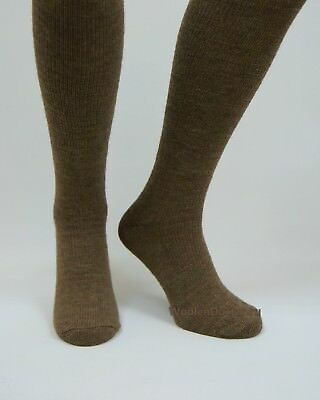 Mens Warm Thermal Thick Heavy Duty Camel Wool Long Knee High Hiking Boot Socks