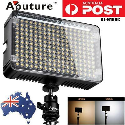Aputure Amaran AL-H198 CRI95+ DSLR Camera LED Video Light LAMP +Hot Shoe Mount