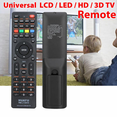 Universal LCD/LED/3D TV Remote for Samsung/Panasonic/PHILIPS/SONIQ QT-112 AUS