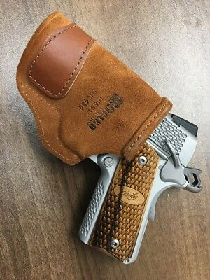 """Galco TUCK N GO Inside The Pant 3"""" - 3 1/2"""" 1911 Right Hand Holster TUC424 H169L"""
