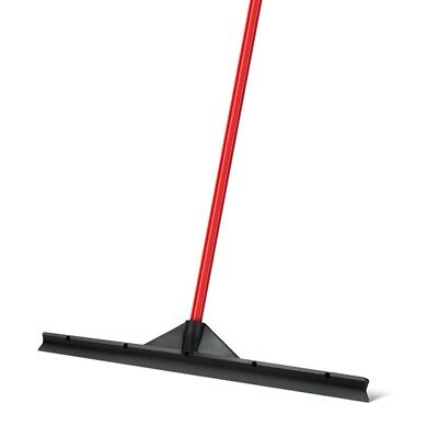 Heavy Duty Floor Scrubber Squeegee Extra-Wide 60 CM Solid Natural Rubber Blade