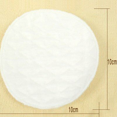 Pregnant Woman Nursing Pads Cotton Spill-Proof For Breast Feeding White