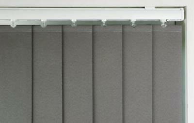 VERTICAL BLINDS, QUALITY MADE TO MEASURE - Child Safe - Origin Fabric, 6 Colours