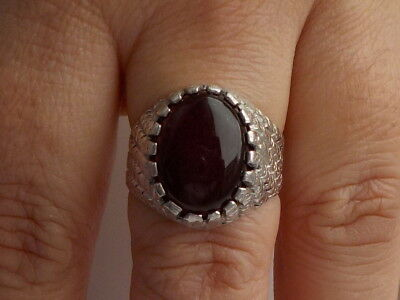 Silver And Garnet Ring Metal Detecting Beach Find