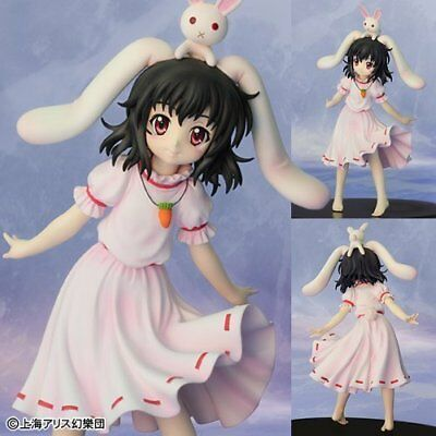 """Touhou Project Tewi Inaba Super Deformed Figure Authentic 7.5/"""" Japan A2956"""