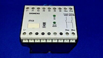 USED FREE SHIPPING SIEMENS 3TK2801-0DB4 SAFETY CONTACTOR RELAY
