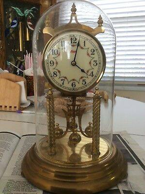 Vintage Kundo 400 Day Anniversary Clock Made In Germany Working