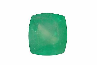 GIA CERTIFIED 24.69CTS Stunning Colombian Emerald Cushion From Muzo Mines