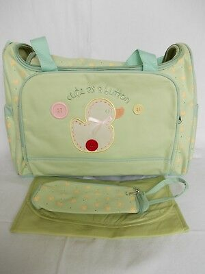 Job Lot  of 6 Cheap Baby Changing Bags with  FREE 3 Piece Feeding Sets