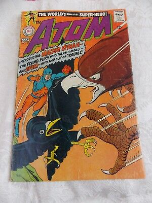 THE ATOM # 37  original series from SILVER AGE  1968  Gil Kane cvr/art