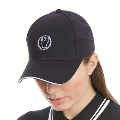Northern Soul Keep The Faith Baseball Cap, 6 Panel, Brushed Cotton Hat. Black
