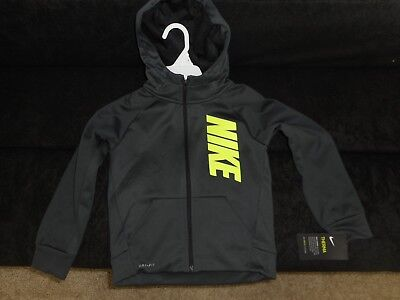 Nike Therma Hooded Jacket size 6 (M) Gray