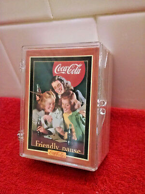 "Coca-Cola Collection ""Series 4"" 1995 Complete Trading Card Set plastic case"