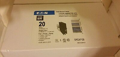 10 x   Breaker Eaton Cutler-Hammer Combination AFCI 20 Amp BRCAF120 New in box