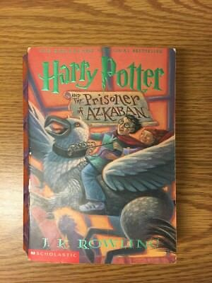 Harry Potter And The Prisoner Of Azkaban 2001 First Scholastic Trade Paperback