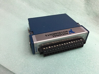 National Instruments NI 192547e-01l ni-9217 C cRIO cDAQ Temperature Input Module