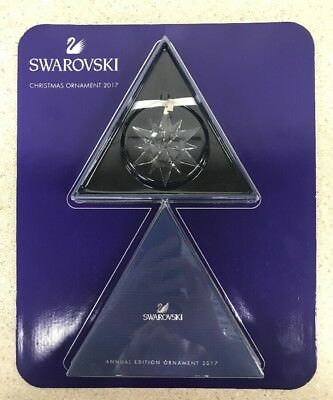NEW2017 Swarovski Crystal Clear Star Snowflake Annual Edition Christmas Ornament