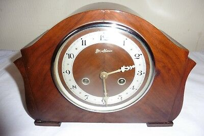 Fine Example Of A Vintage Perivale Striking Mantle Clock (Working).