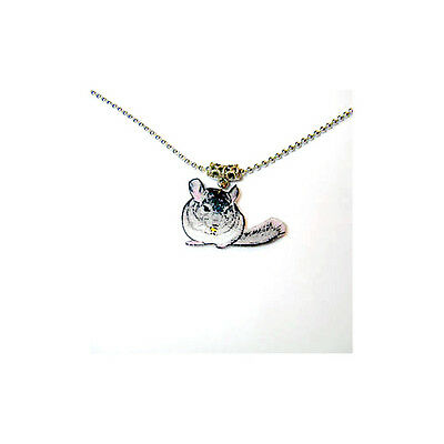 Chinchilla Necklace Handcrafted Plastic Made in USA